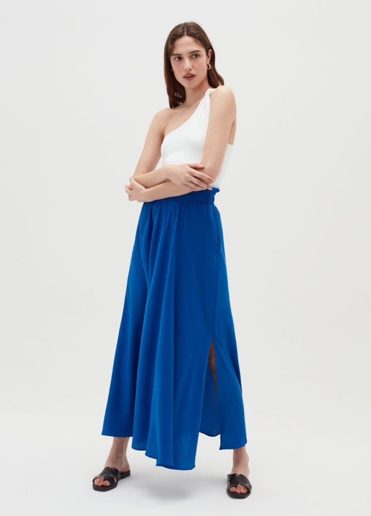 Tips phối đồ với chân váy dài | Ảnh 4