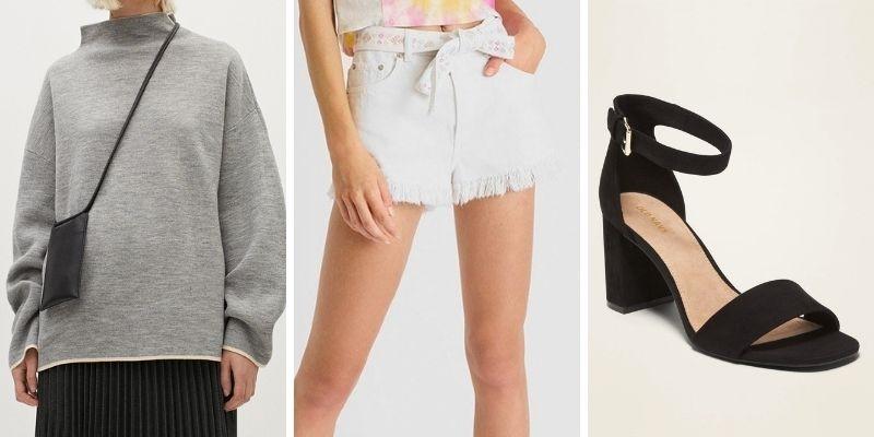 Outfit gợi ý: Tạo điểm nhấn với giày cao gót