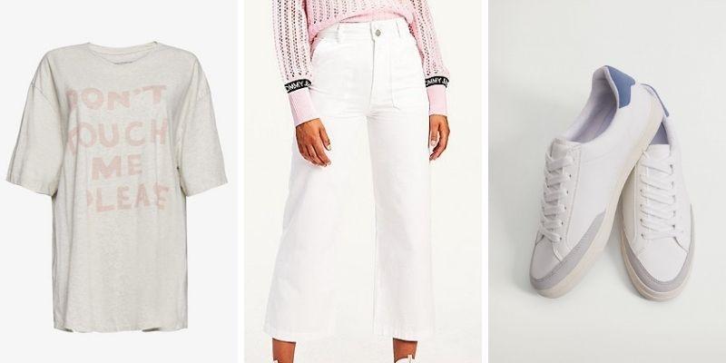 Set đồ Thoải mái từ đầu đến chân với áo thun phom rộng