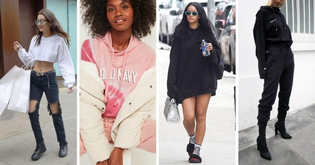 Cách phối đồ với áo hoodie chất lừ kịp xu hướng 2021 cho phái nữ