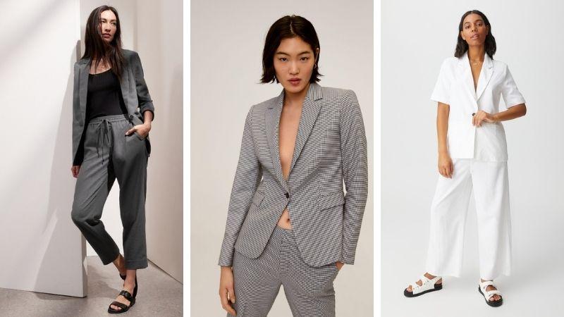 Áo blazer, set đồ vest sang trọng và thanh lịch
